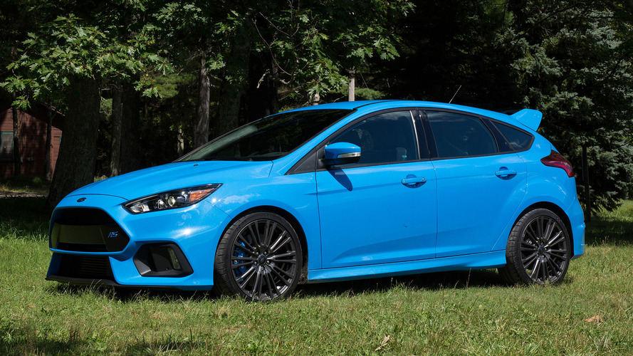 Ford moving 500 units of Focus RS a month, mostly in California
