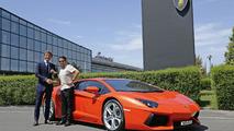 1,000th Lamborghini Aventador LP 700-4 19.7.2012