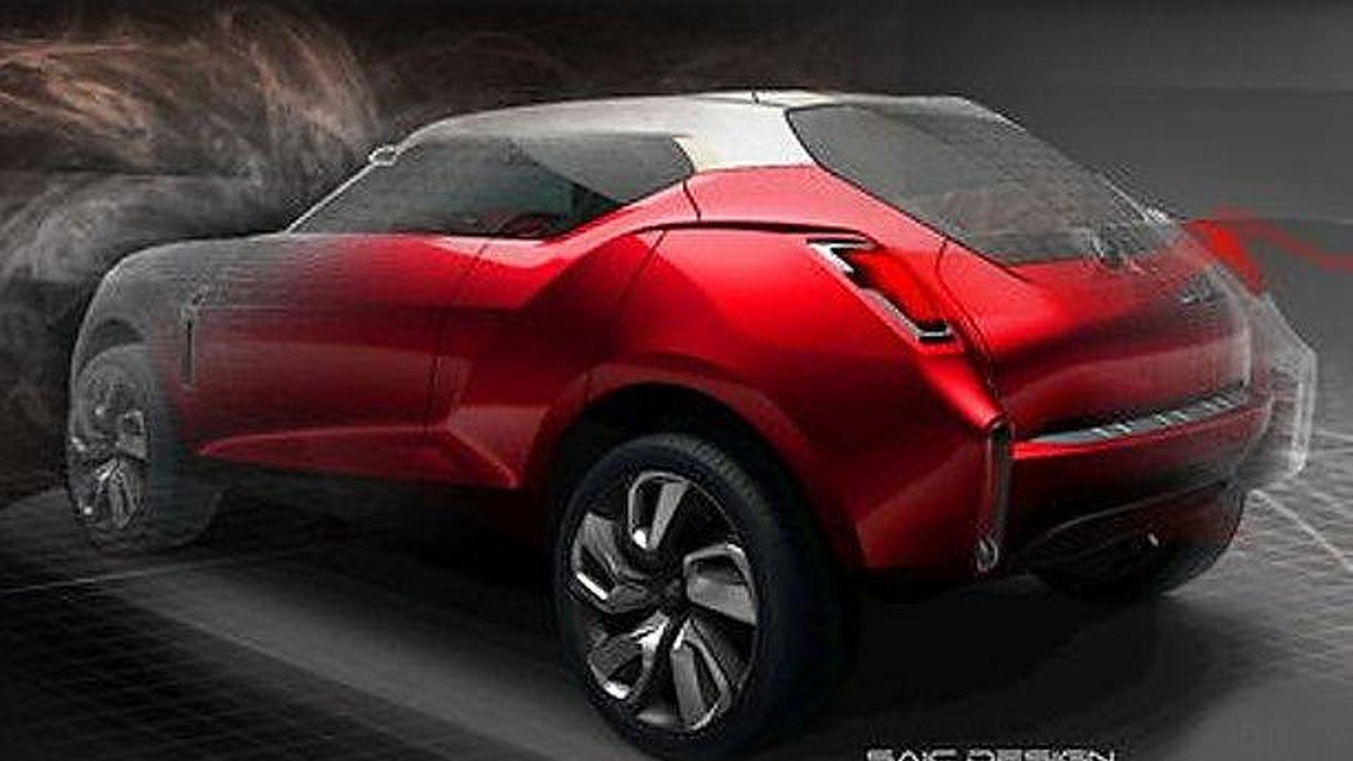 MG Icon concept announced for Auto China 2012
