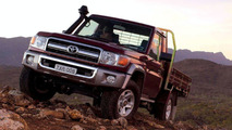 New Toyota Landcruiser 70  Series Breaks Cover (AU)