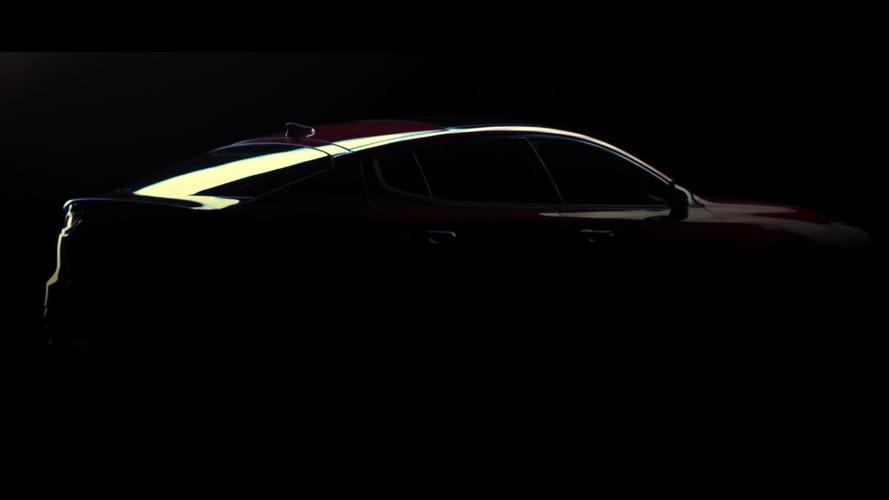 2018 Kia GT teaser reveals hood vents