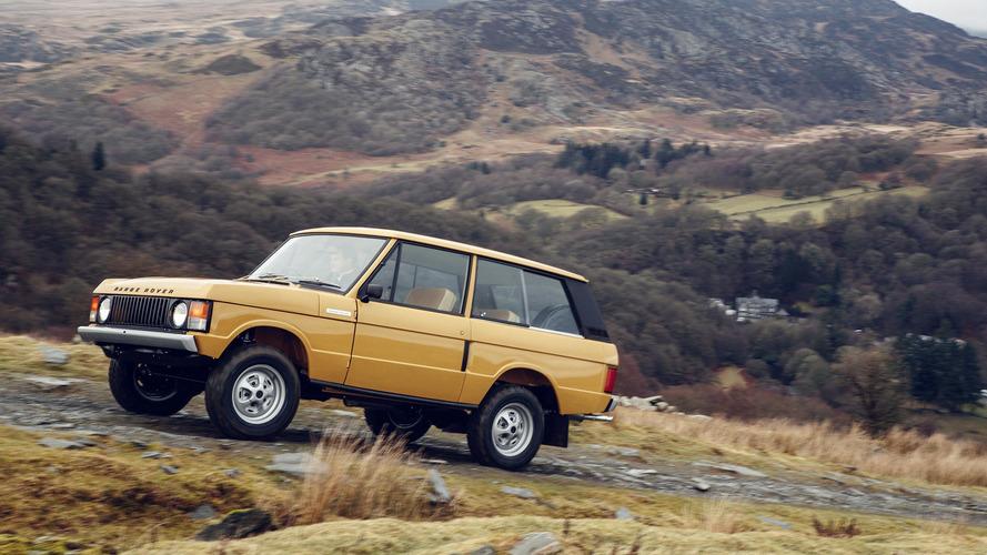 Pricey factory-perfect Range Rover restorations premiering in Paris
