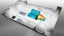Peugeot Presents 908 HDi FAP Hybrid