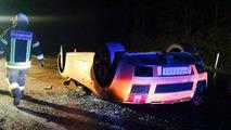 Lamborghini Gallardo Spyder accident