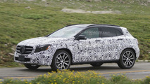 2014 Mercedes-Benz GLA spy photo 11.07.2013