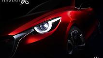 Mazda Hazumi concept teased ahead of Geneva debut, previews next-gen Mazda2