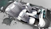 Mercedes-Benz S-Class Coupe concept design sketch (not confirmed)
