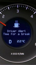 Volvo Launches Driver Alert Control