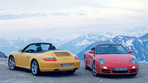 Porsche 911 Carrera 4 and 4S Cabriolet Unveiled