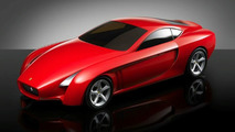 Ferrari Concepts of the Myth Exhibition in NYC