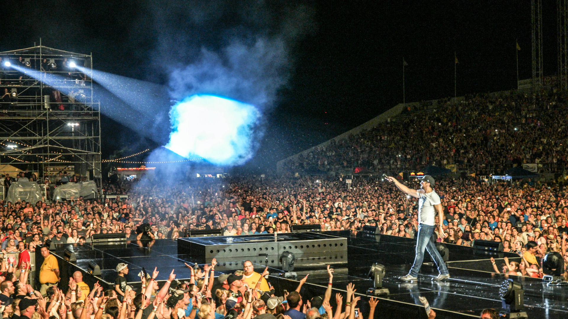 Chevy's poster boy Kid Rock out; country star Luke Bryan in