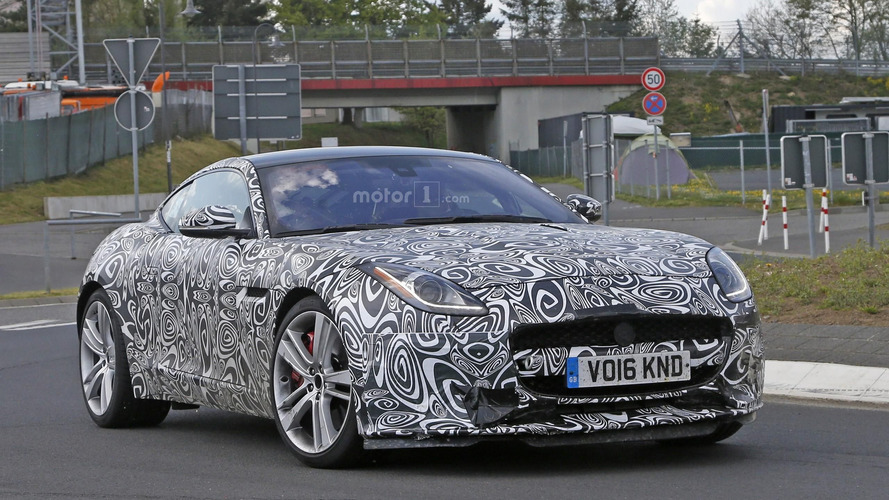 2017 Jaguar F-Type with four-cylinder engine spy photos