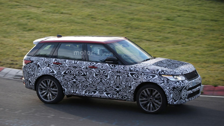 Facelifted Range Rover Sport SVR roars on the Ring