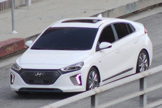 Hyundai's Prius Rival Caught Testing