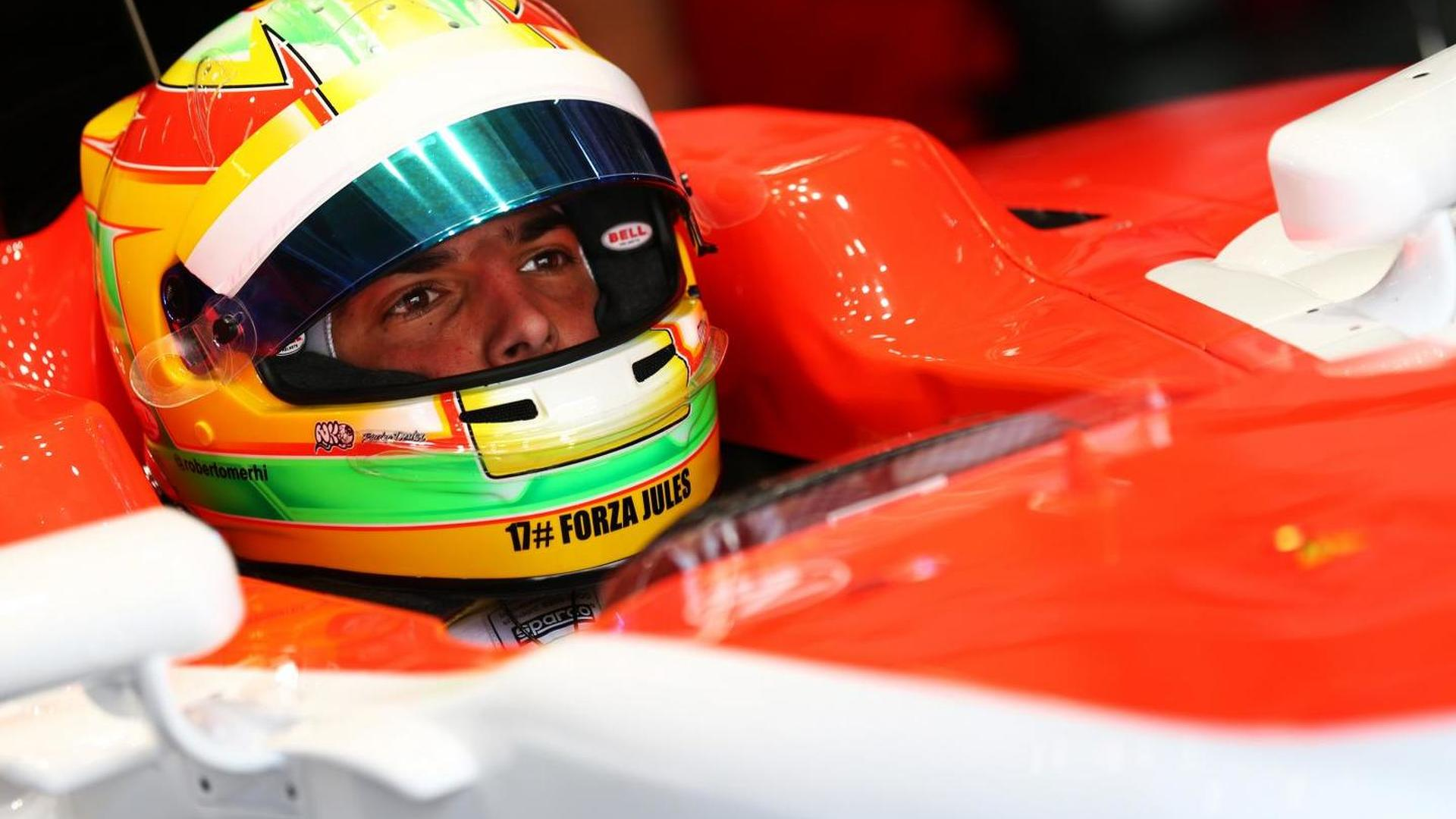 Merhi confident of China GP race seat