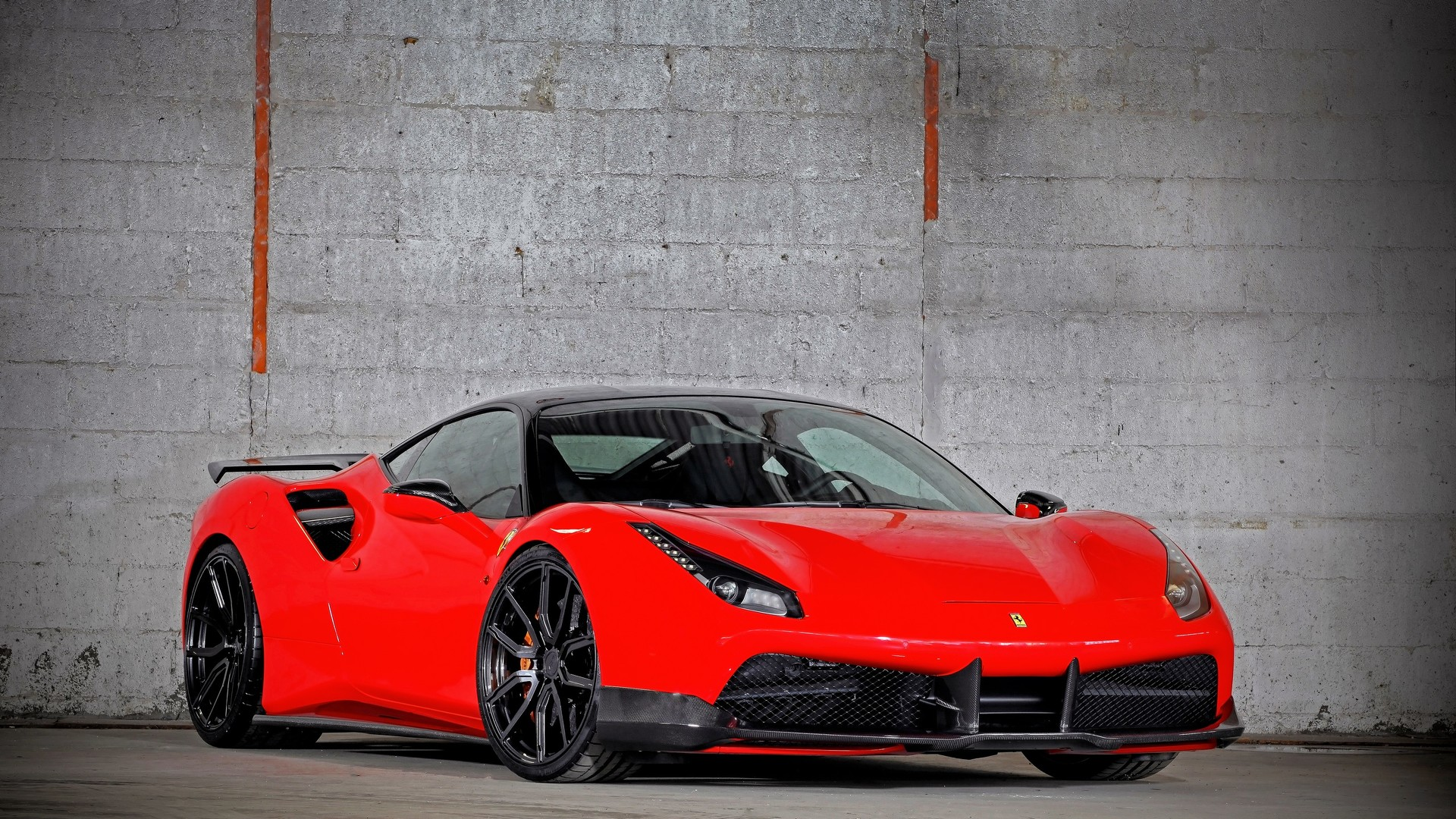 Tuner's 900-hp Ferrari 488 GTB looks devilish