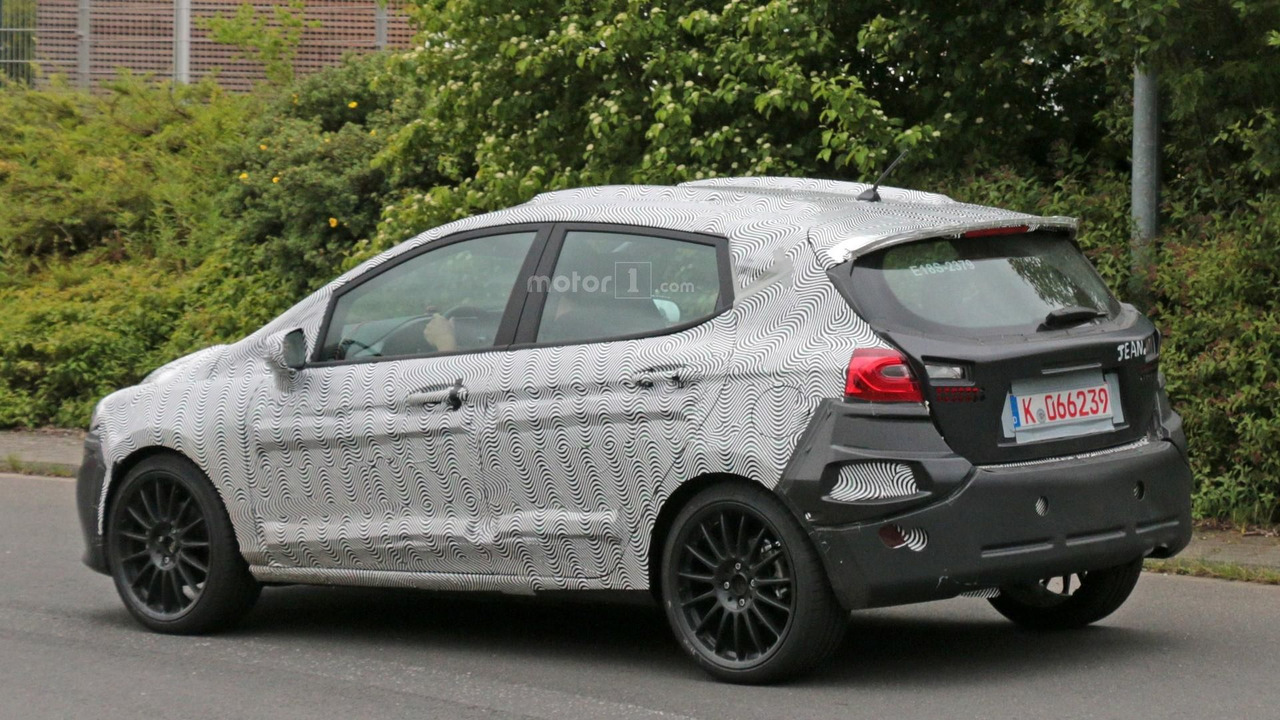 2018 ford fiesta st spy photo photo. Black Bedroom Furniture Sets. Home Design Ideas