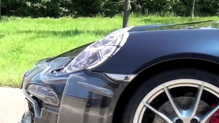 2012 Porsche 911 (991) caught undisguised - rendering added [video]