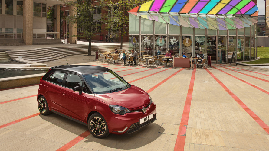 MG3 receives start-stop and Euro 6 engine for 2016 MY