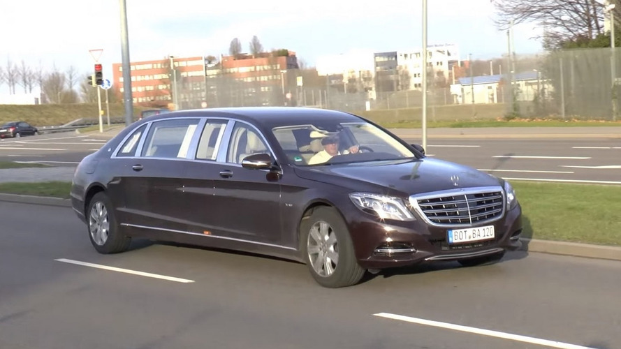 Mercedes-Maybach S600 Pullman is a rare sight [video]