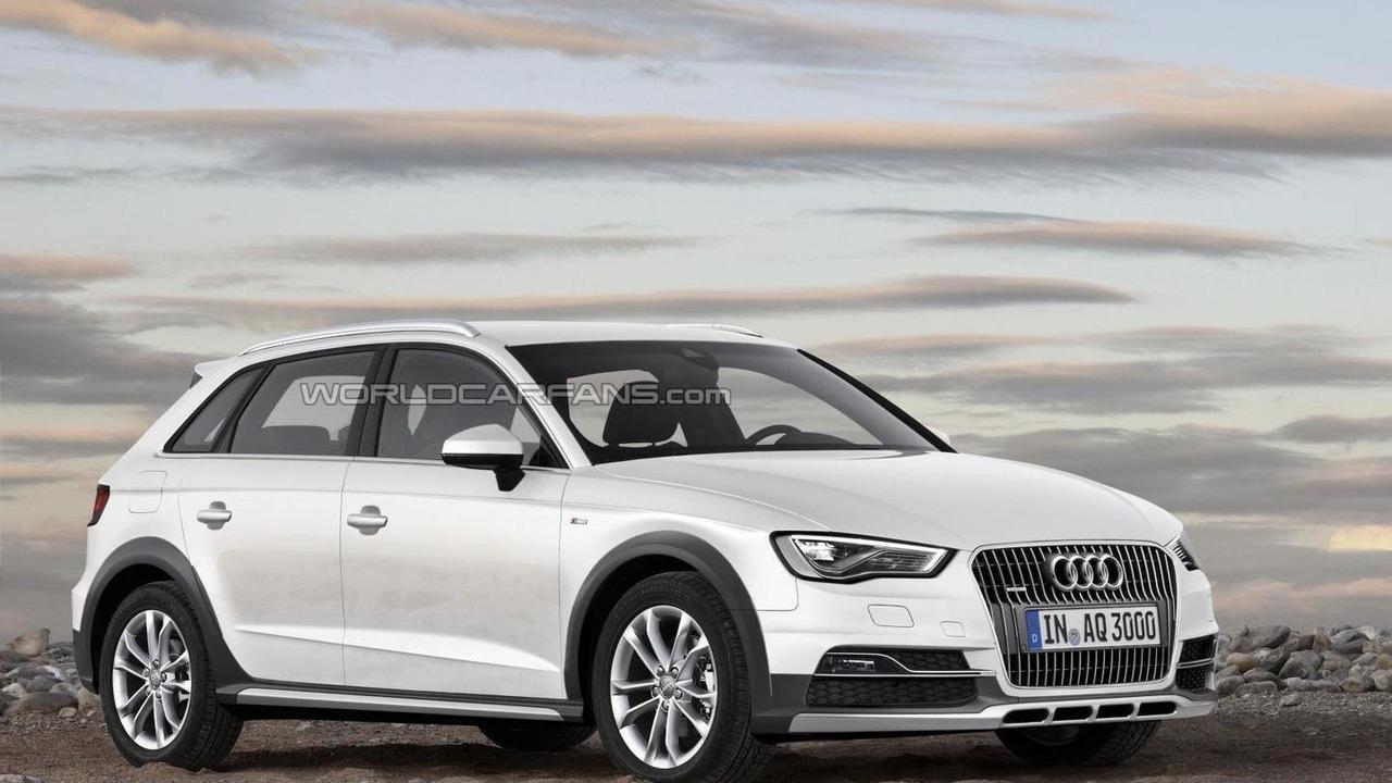 Audi A3 Allroad render / Automedia