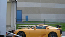 Lexus LFA with Nurburgring package 16.4.2012