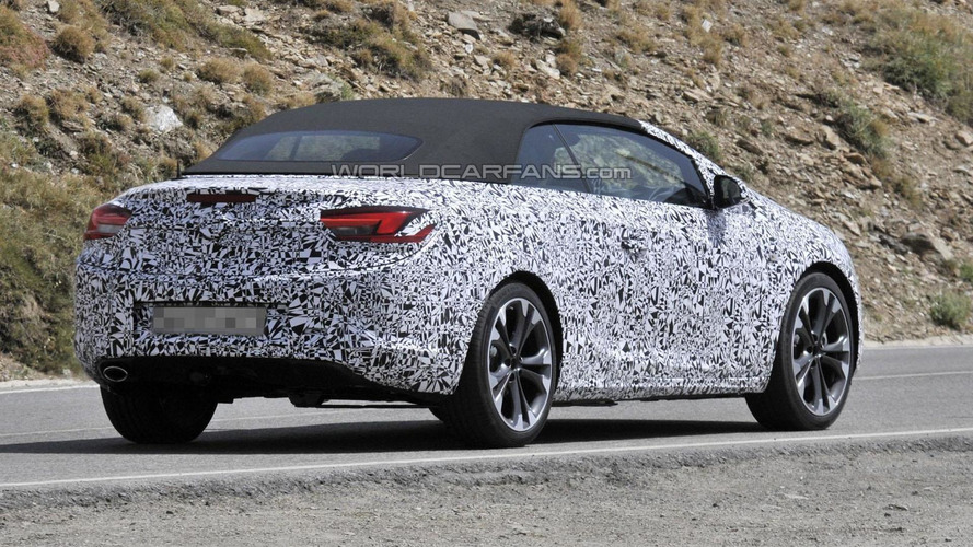 2013 Opel Astra Cabrio spied with a soft top