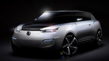 SsangYong e-XIV concept heading to Paris