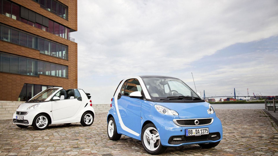 Smart ForTwo Iceshine edition announced