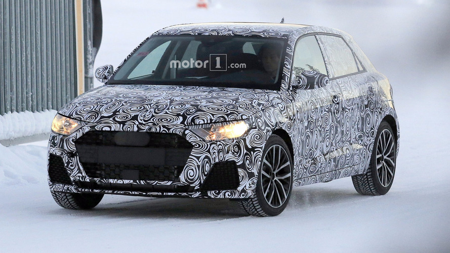 2019 Audi A1 spied for the first time