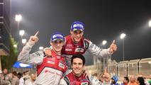 Race winners #8 Audi Sport Team Joest Audi R18- Lucas di Grassi, Loic Duval, Oliver Jarvis