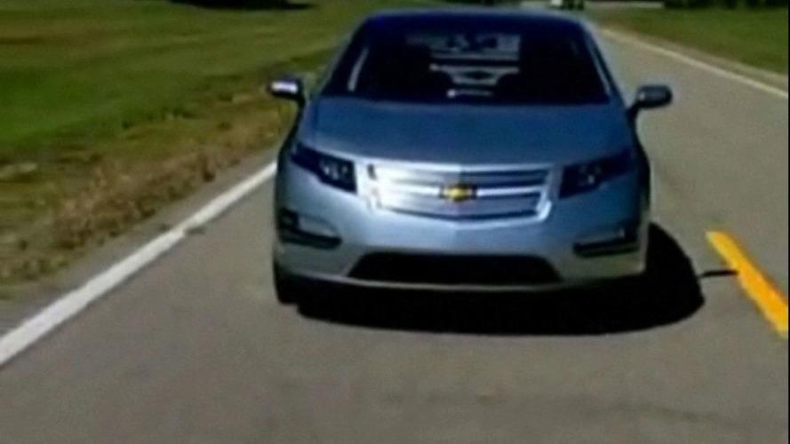 Chevrolet Volt Unveiled at GM Centennial Event