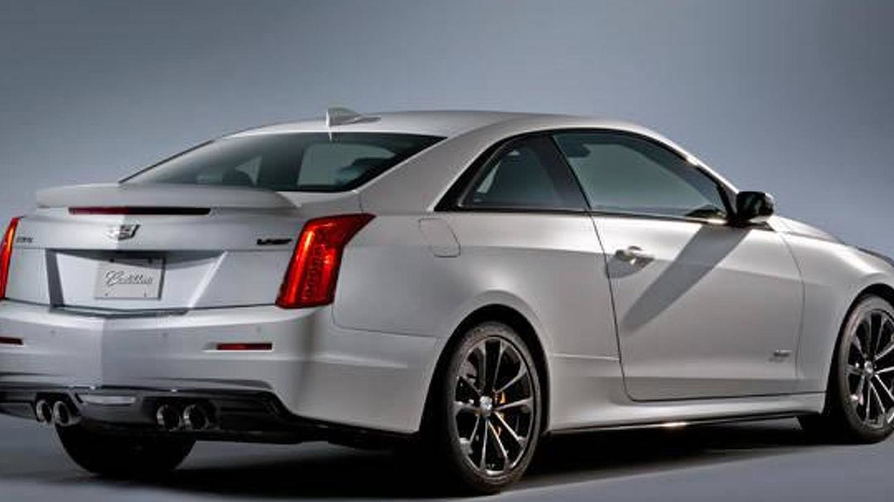 2016 Cadillac ATS-V leaked photo