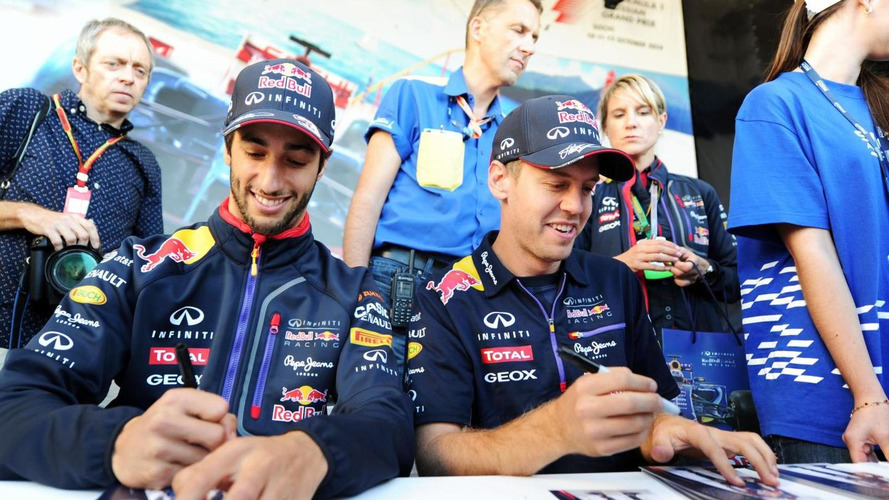Vettel never lost respect for Ricciardo