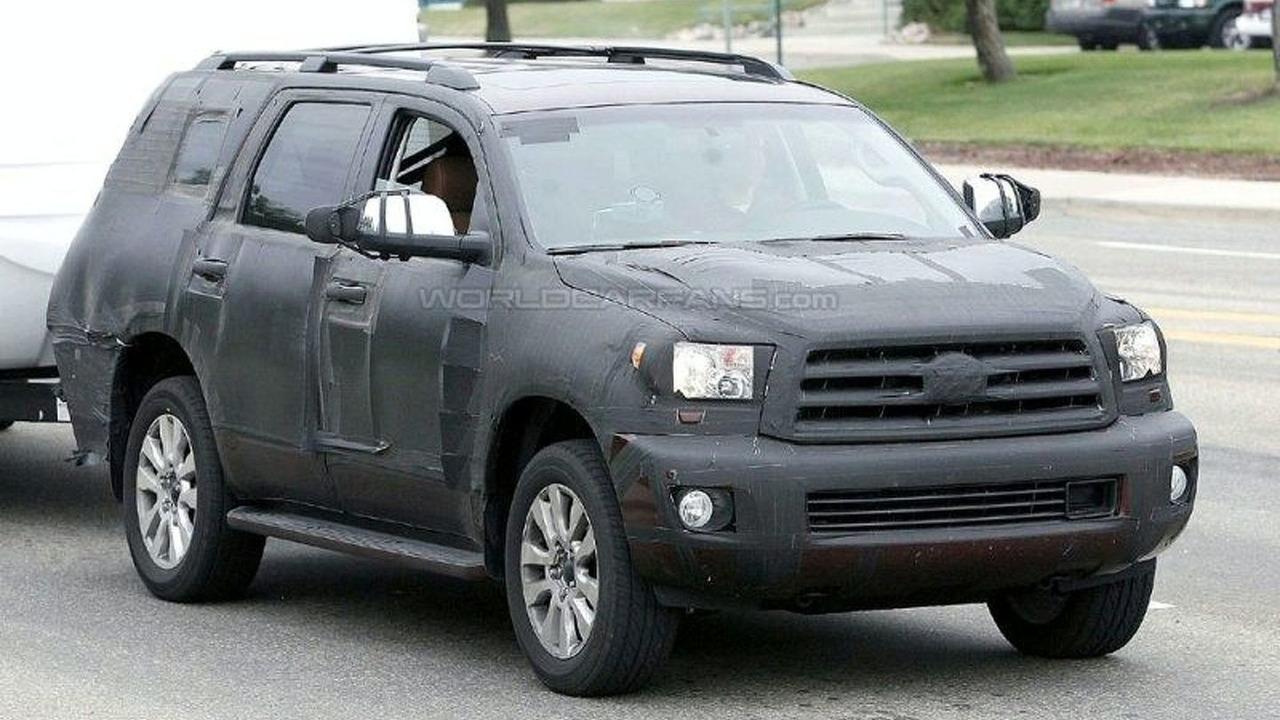Toyota Sequoia Spied