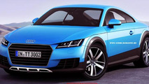 Audi TT Allroad render has potential