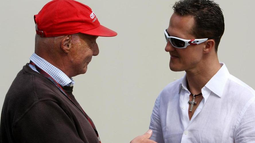 Lauda 'annoyed' by Schumacher rumours
