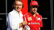 Alonso insists 'zero problems' with Montezemolo