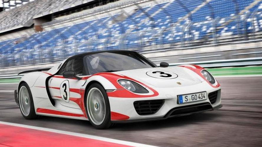Porsche updates 918 Spyder performance figures, 0-60 mph in 2.5s