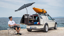 MINI shows Clubvan Camper, Cowley and Countryman ALL4 Camp summer getaway cars