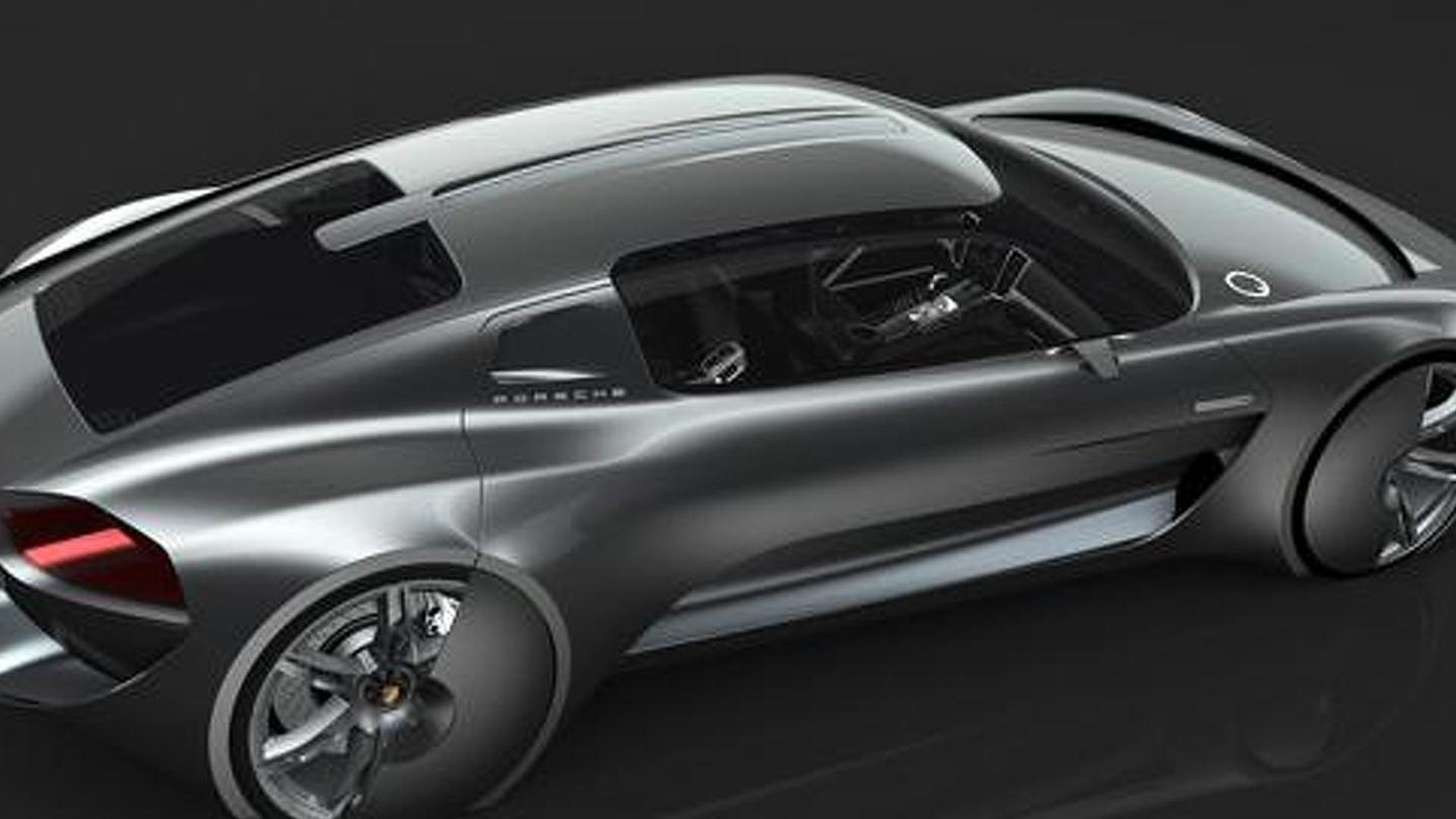 Porsche 929 envisioned by college student