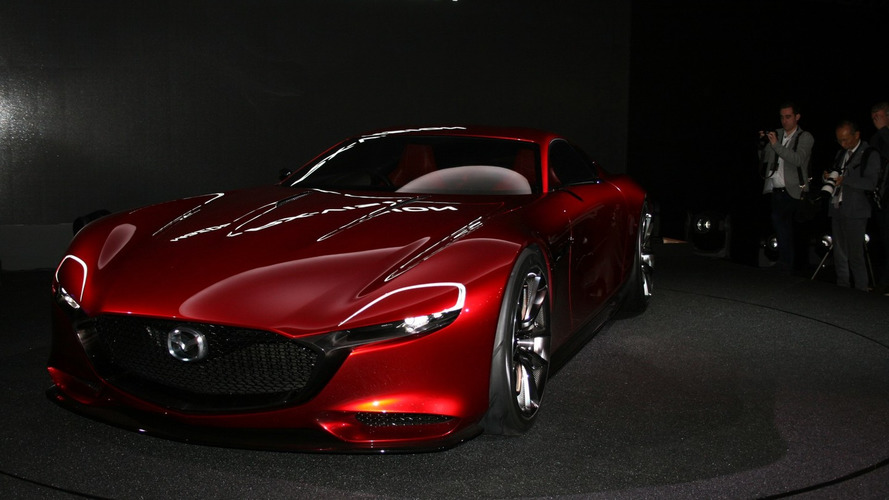 Mazda RX-VISION Concept unveiled with a SKYACTIV-R rotary engine
