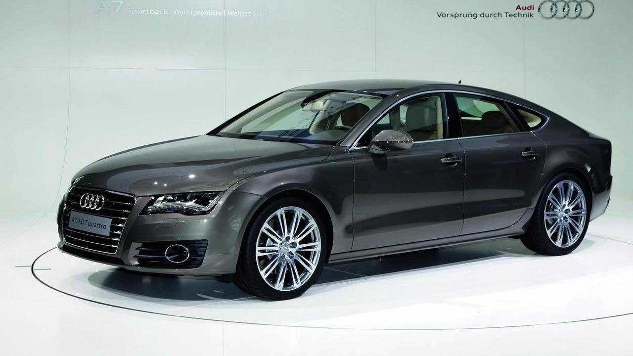 2011 Audi A7 Sportback unveiling in Munich