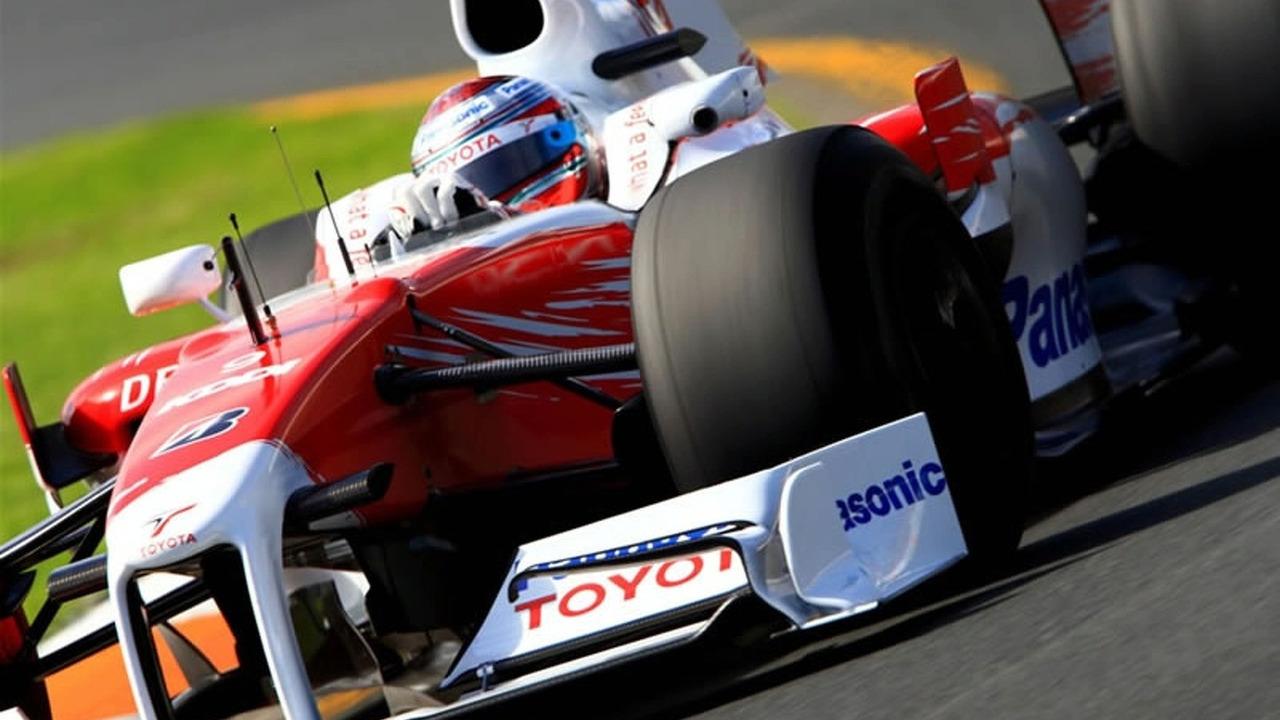 Panasonic Toyota TF109 - 2009 Australian Grand Prix