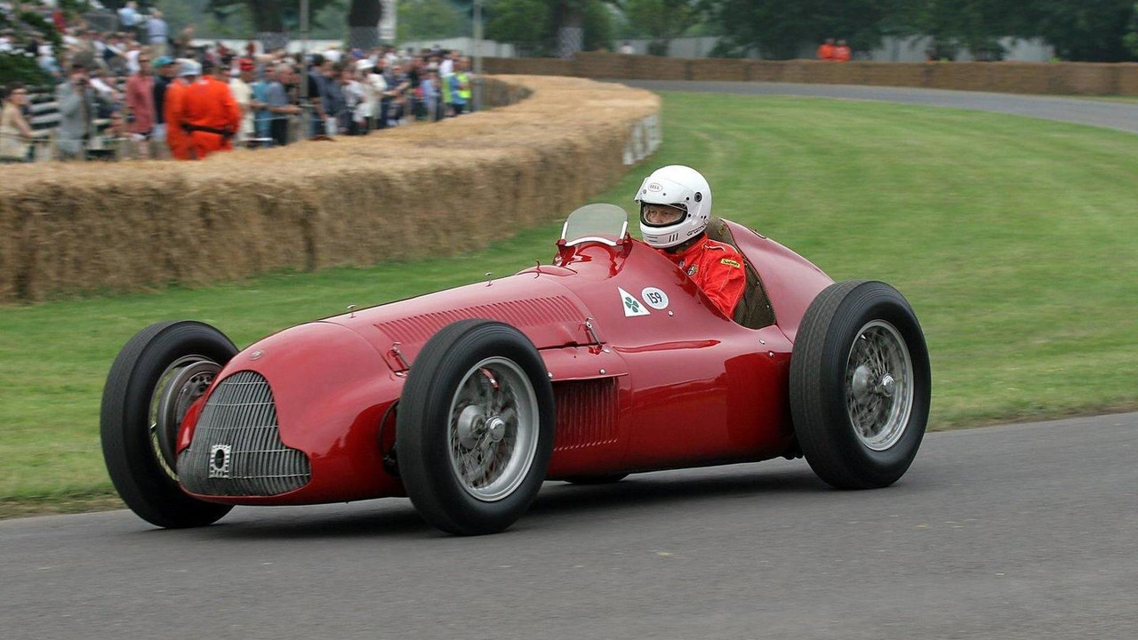 Alfa 159 Alfretta at Goodwood Festival of Speed 2009, 01.07.2010