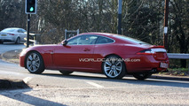 Jaguar XK-R Facelift spied with front end uncovered