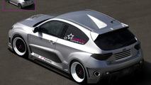 Subaru Impreza WRX Rear-Engined Three-Door Widebody - Artist Fun