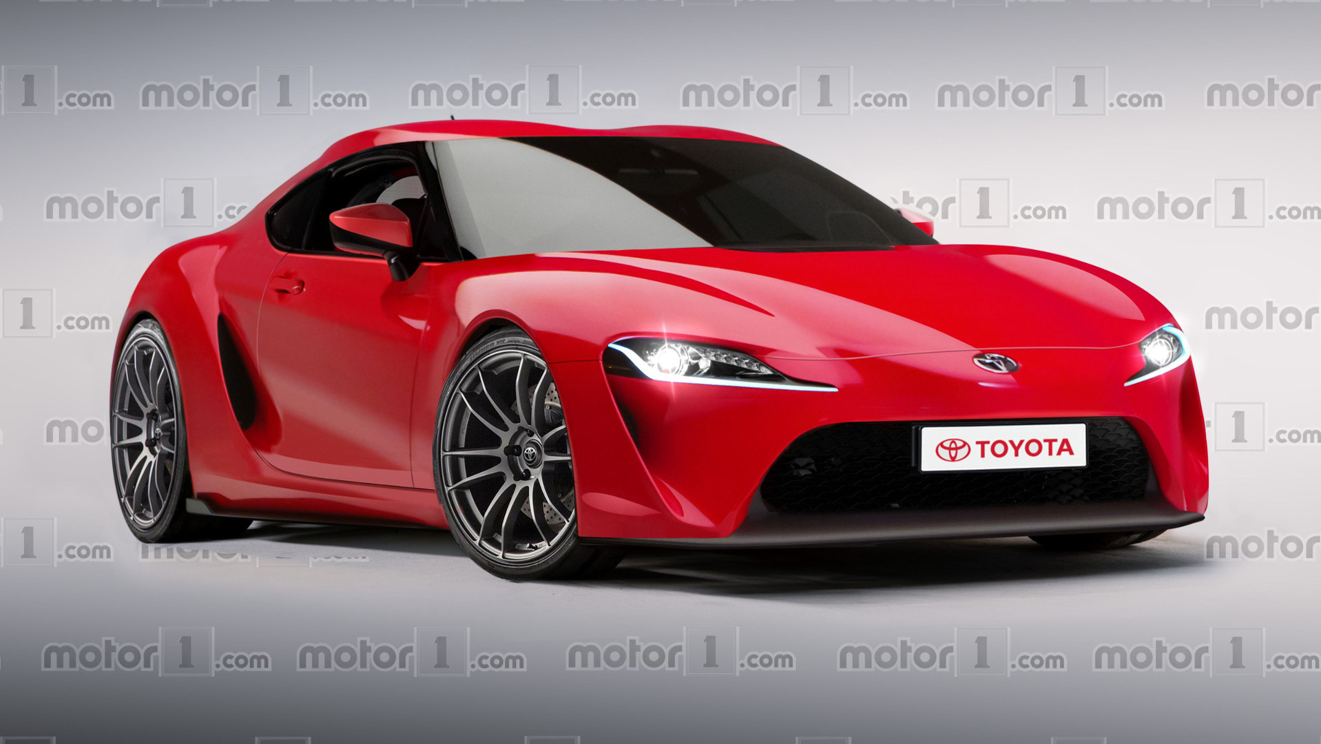Much Hyped Toyota Supra Revival Digitally Imagined