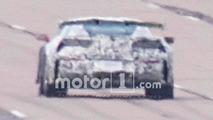 Chevrolet Corvette ZR1 Wing Spy Photos