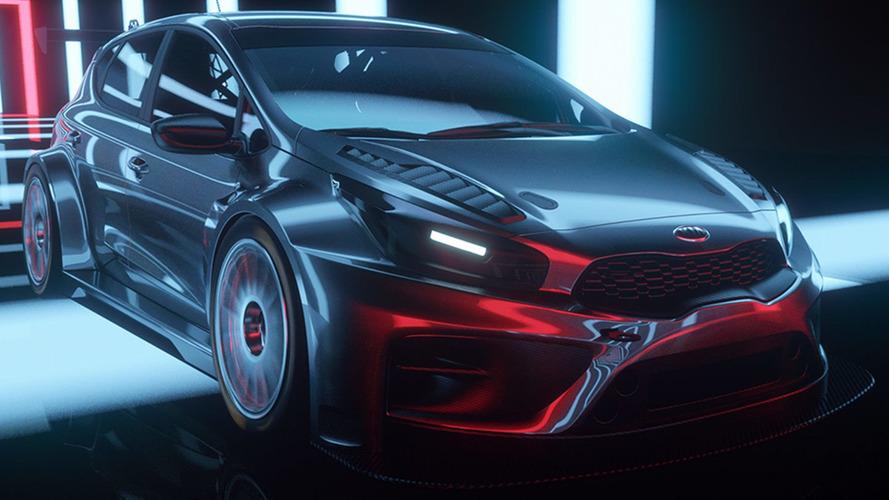 Kia cee'd TCR looks pretty sweet in promo video